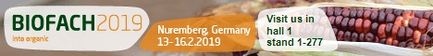 BioFach from 13.02. - 16.02.2019