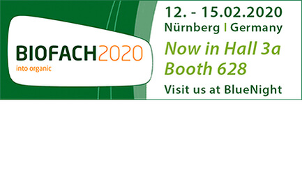 BIOFACH2020, Nürnberg   12. -15.02.2020