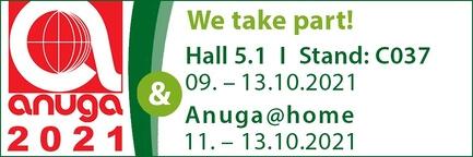 ANUGA 2021 - we take part